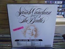 Sarah Vaughan Songs of The Beatles vinyl LP 1981 Atlantic Records EX [Promo]