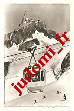 CARTE POSTALE ANNEES 1960 ANCIEN TELEPHERIQUE DU MONT- BLANC