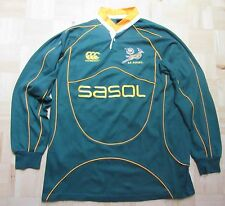 South Africa RUGBY L/S shirt jersey by CANTERBURY 2007 Springboks /men XL