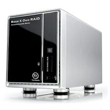 "ThermalTake N0015LU Ext Muse X-Duo RAID 2-Bay 3.5"" Hard Drive Network NAS"