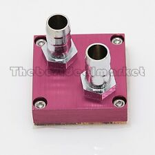 Water Cooling Red North Bridge Block Copper Base With Aluminum Clip USA Seller