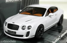 MINICHAMPS 1/43 - 436 139800 BENTLEY CONTINENTAL SUPERSPORTS 2009 DIECAST MODEL