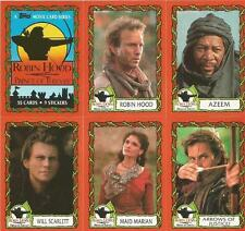 Robin Hood Prince of Thieves Full 55 Card Trading Card Set from Topps 1991