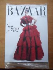 Harpers Bazaar magazine August 2012 unopened, unread Julia Stegner on cover