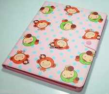 Puppy Red Smart Cover Leather Case With Screen Protector For Apple iPad 2/3/4