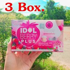 x 3 IDOL BERRY PLUS Drink juice to lose weight Low Fat 100% (Blast fat formula)