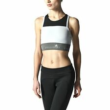 adidas Performance Womens Stellasport Sports Bra Racerback Gym Top S