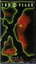 the X FILES tooms episodio 2 i file segreti vhs ITA scatolato xfile