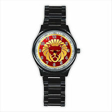 NEW HOT LION Stainless Steel Round Wrist Watch Gift D02
