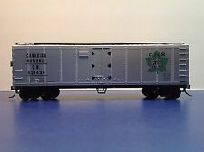 "HO Scale ""Canadian National' CN 521436 40 Foot Freight Train Box Car"