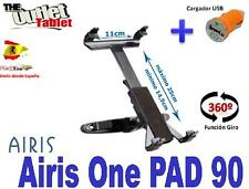 SOPORTE REPOSACABEZAS PARA Airis One Pad 90 + CARGADOR MECHERO USB