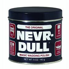 NEVER DULL NEVR DULL Magic Wadding Polish metal cleaner NEW - 5oz / 142g