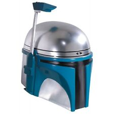 Jango Fett Helmet 2 Pc Adult Star Wars Costume Accessory Fancy Dress