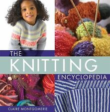 The Knitting Encyclopedia: A Comprehensive Guide for All Knitters-ExLibrary