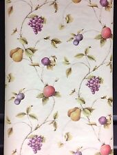 Paperpro Wallpaper Assorted Trailing Fruits Prepasted #FD58824 (Lot of 6 Dbl Rls