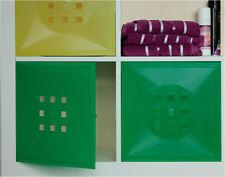 Tür für Würfel Ikea Regal Expedit Kallax statt Einsatz mit Glas*Grün-transluzent