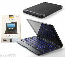 New ZAGG keys Folio Case with Bluetooth Backlit Keyboard for iPad mini - Black