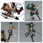 "Anime Attack On Titan PVC Action 6"" Figure Figma New In Box Levi U"