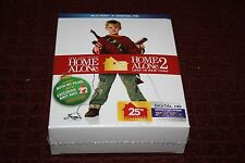 Home Alone 25th Anniversary Edition (Blu-ray) (Gift W/ Knit Hat from film *New*