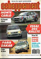 revue automobile: Echappement: N°232 février 1988