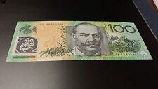 Australia: 2008 $100 Dollar Polymer Note ~ *EF 08800880* ~ Lucky Numbers ~ *UNC*