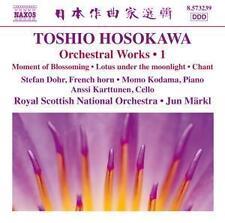 Orchesterwerke Vol.1 - Märk,Jun/Royal Scottish NO - Hosokawa,Toshio * CD*NEU*747