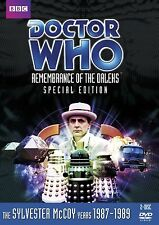 Doctor Who Remembrance of the Daleks Region 2 New DVD (2 Discs)