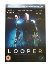 NEW SEALED Region 2 DVD Bruce Willis LOOPER Emily Blunt & Joesph Gordon Levitt