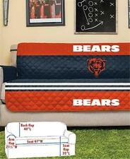 CHICAGO BEARS NFL FOOTBALL TEAM SOFA COUCH FURNITURE PROTECTIVE COVER
