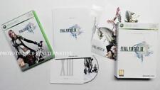 Coffret collector jeu FINAL FANTASY XIII sur xbox 360 + livre game spiel FF 13
