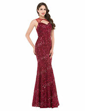 Women Shiny Sequins Long Corset Dress Evening/Formal/Ball gowns/Party/Prom Dress