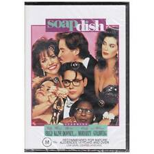 DVD SOAPDISH Sally Field Whoopi Goldberg Robert Downey Jr 1991 COMEDY R4 [BNS]