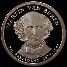 2008-S Presidential Dollar Martin van Buren Gem DCAM Proof Uncirculated