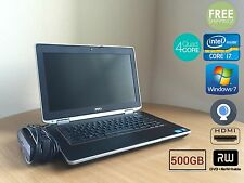 "Dell Latitude E6420 Core i7-2720QM 2.20GHz 4GB 500GB win7 HDMI Webcam 14"" HD"