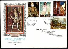FDC - G.B. 1968 British Paintings - First Day Cover