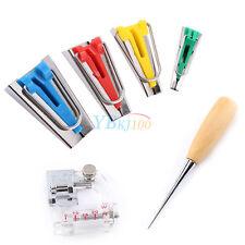 Bias Tape Maker Kit Guide Strip Sewing Machine thread Binding Tool 6/12/18/25mm
