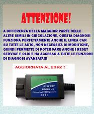 AUTODIAGNOSI OBD2-AGGIORNATA AL 2016!!! ALFA MITO-GIULIETTA-ALFA 159