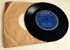 "RARE 7"" PROMO THE JOHNSTON BROTHERS LOVE IS ALL WE NEED DECCA DEMO DRX 25197"