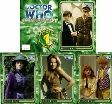 Dr Doctor Who Trilogy Full 15 Card Preview Set from Strictly Ink