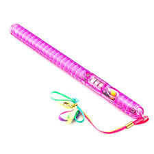 Flashing Wand Pink LED Glow Light Up Sticks Party Favors Rave Blinking Prom Fun