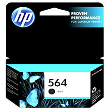 Exp 2017 Genuine HP 564 Black ink Cartridge For 5520 D5460 D5445 B209a 5522 C309