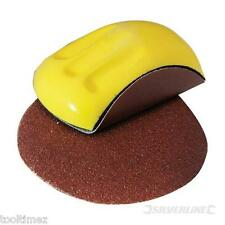 150 x 85mm Sanding Block Ergonomic foam block Polish Car Body shop 100002