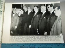 Rare Historical Original VTG 1943 Anthony Eden Tom Connally Congressional Photo