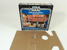 Remplacement vintage star wars kenner land of the jawa boîte + inserts