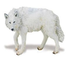 Weisser Wolf 9,5 cm Serie Wildtiere Safari Ltd 220029