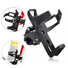 US Black Drink Water Bottle Cup Bike Mount Holder Cage Fits Universal Motorcycle