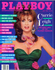 Playboy July 1986 USA Carrie Leigh