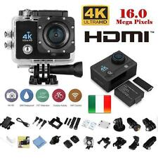 Pro Cam 4K SPORT WIFI ACTION CAMERA ULTRA HD 16MP VIDEOCAMERA SUBACQUEA GOPRO Q3