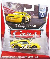 Disney Pixar Cars World Of Cars Sidewall Shine No 74 Slider Petrolski 1:55 Scale