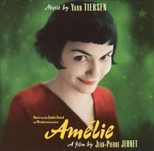 Am'lie [Original Soundtrack] by Yann Tiersen (CD, Oct-2001, Virgin) FREE SHIP!